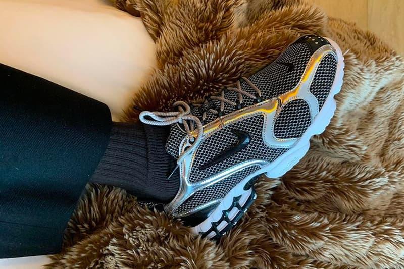 A$AP Nast 率先揭示 Stüssy x Nike Zoom Spiridon Caged 聯乘鞋款