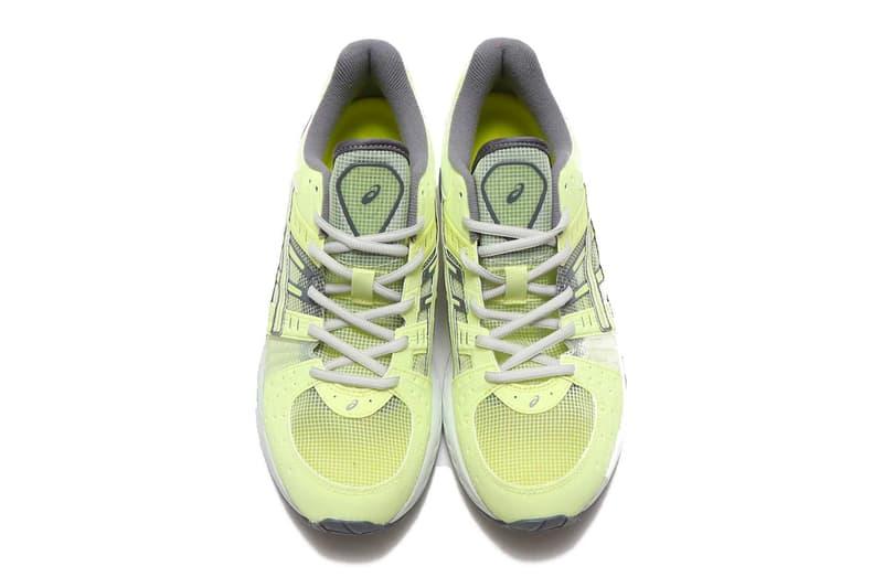 ASICS GEL-Kinsei OG 螢光黃鞋款正式發佈