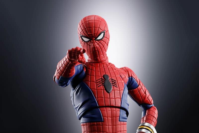 日本昭和時代特攝-Bandai Spirits 推出 S.H.Figuarts 系列「東映蜘蛛人」可動人偶