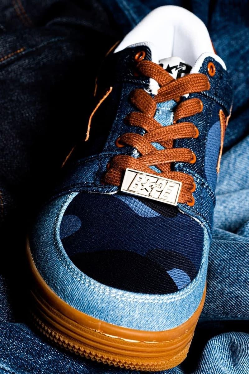 慶祝 20 週年!BAPESTA 推出全新 Patchwork Denim 別注鞋款