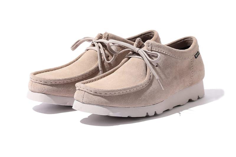 BEAMS x Clarks 最新 GORE-TEX 機能聯乘 Wallabee 鞋款發佈