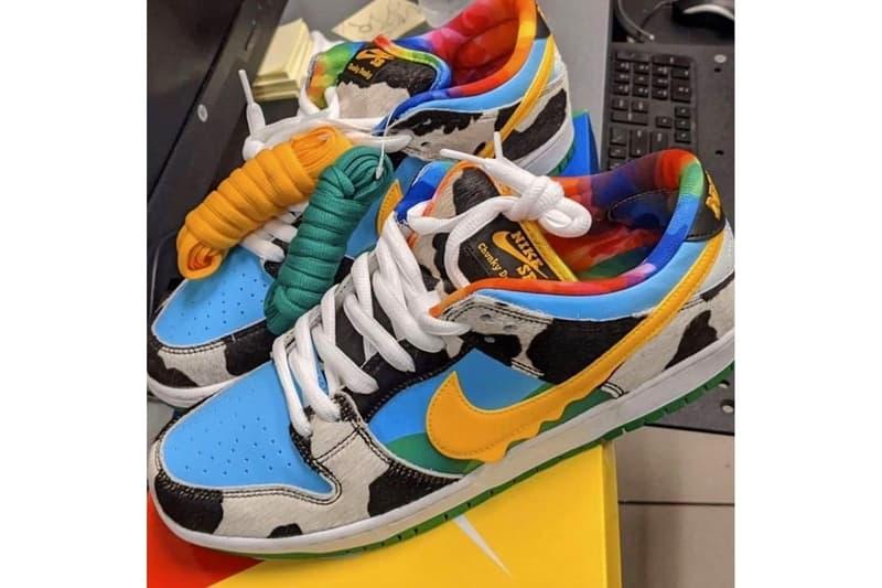 率先預覽 Ben & Jerry's x Nike SB Dunk Low 最新聯名鞋款