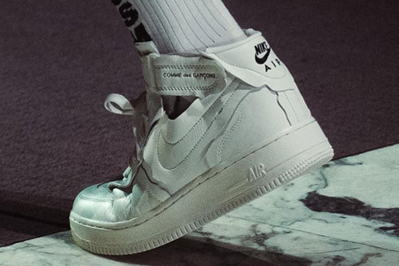 率先近賞 COMME des GARÇONS x Nike Air Force 1 Mid 全新聯乘鞋款