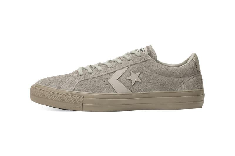 Converse Skateboarding 推出全新麂皮 Proride SK OX 系列鞋款