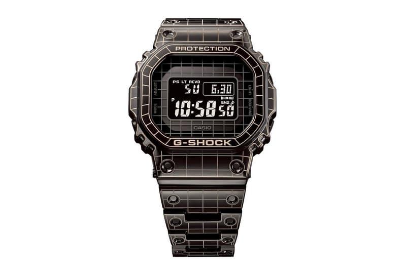 G-Shock 最新雷射格紋樣式 GMW-B5000 腕錶發佈