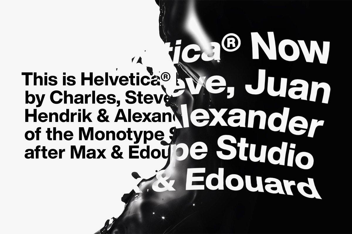 Helvetica 字體為何受到 Burberry、Saint Laurent 等奢侈品牌的青睞?| Behind The HYPE
