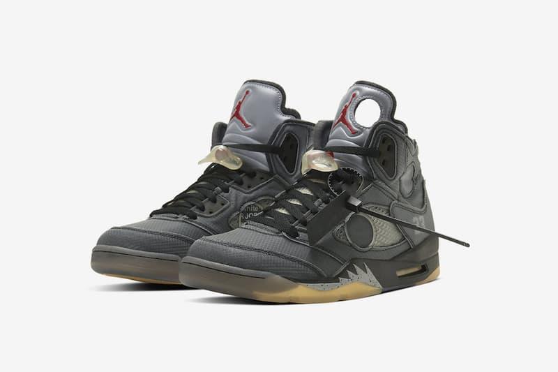 Off-White™ x Air Jordan 5 聯乘鞋款香港區抽籤情報公開