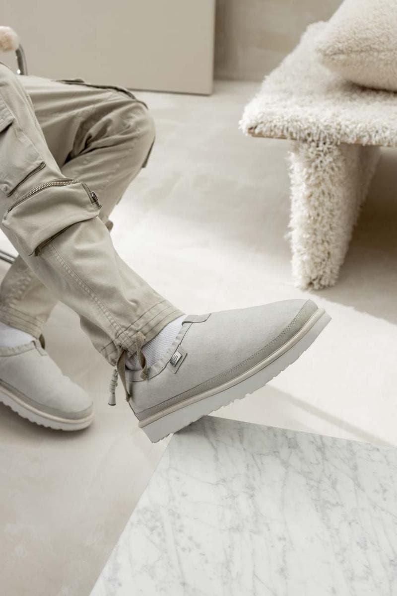 UGG 攜手 STAMPD 推出別注版 Tasman 鞋款