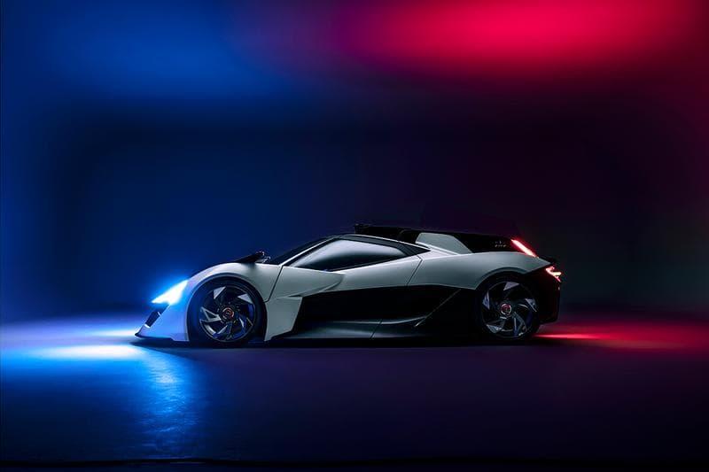 香港廠牌 Apex Motors 發表首款純電概念超跑 AP-0