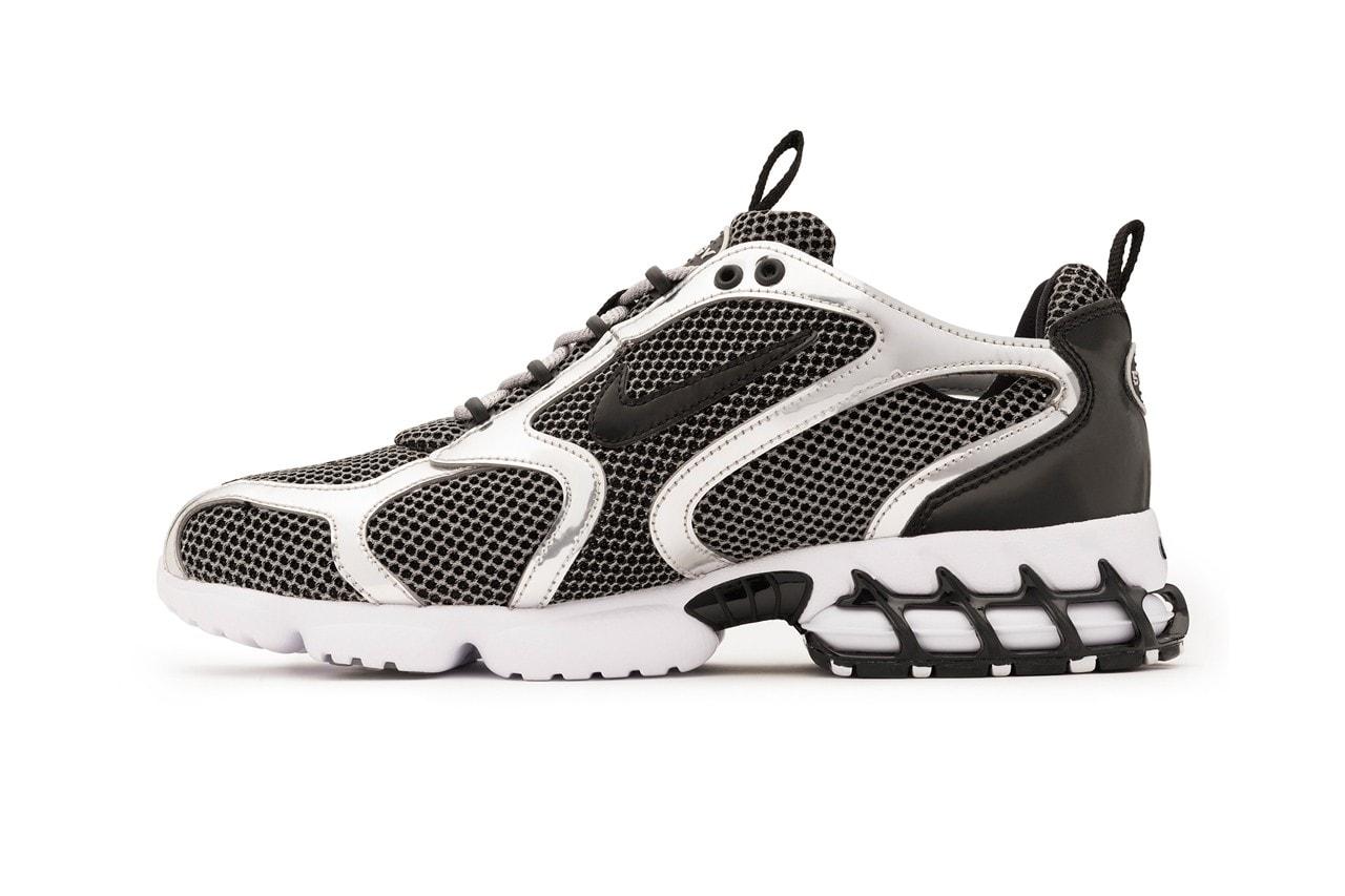 Stüssy 正式發佈 Nike Air Zoom Spiridon Caged 2 聯乘鞋款系列