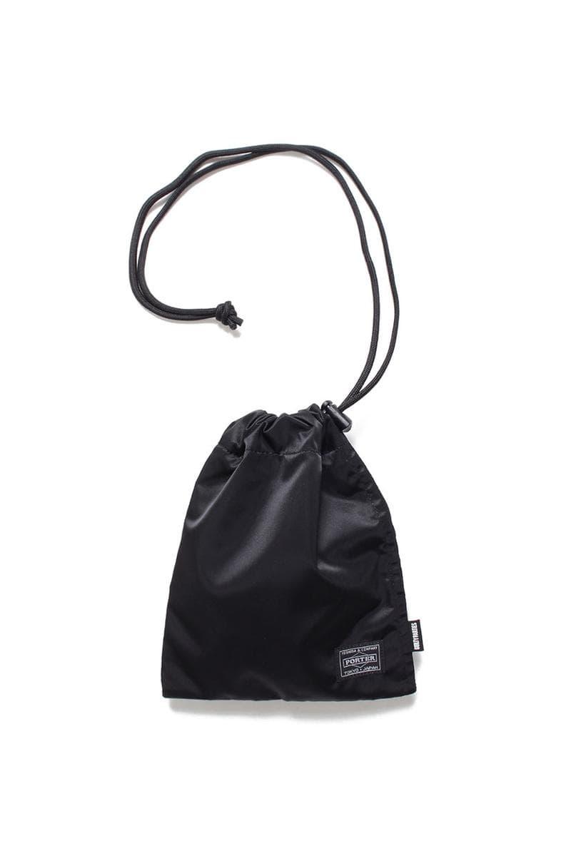 WACKO MARIA x PORTER 推出聯名版索繩小袋子