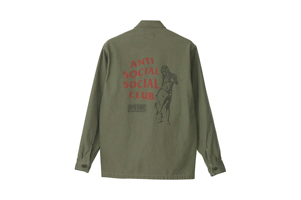 Hysteric Glamour x Anti Social Social Club 聯名系列發售情報公開