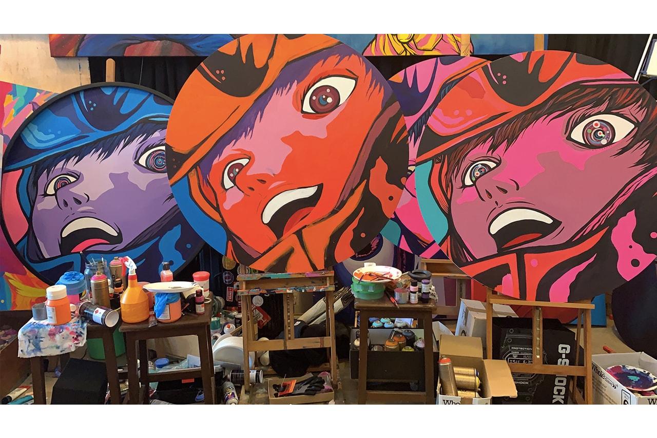 街頭藝術象徵著一個世代的精神,新加坡藝術家 Jahan Loh 是如何述說他的故事?