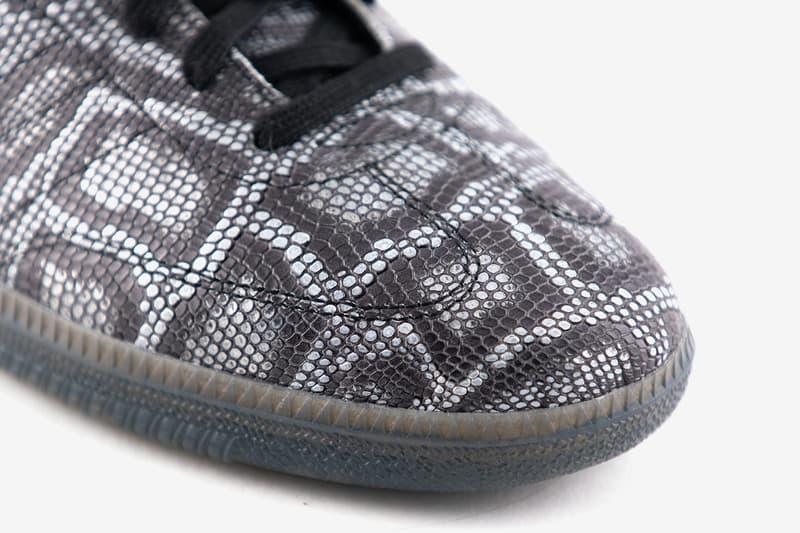 Jason Deal 聯手 adidas Skateboarding 打造別注蛇皮 Samba Decon 聯乘鞋款