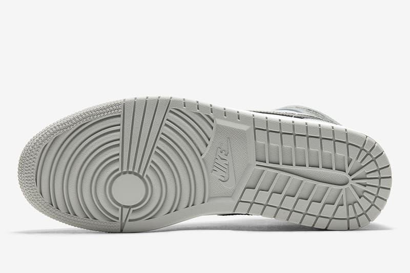 最接近神-Air Jordan 1 Mid「Light Smoke Grey」配色正式發佈(UPDATE)