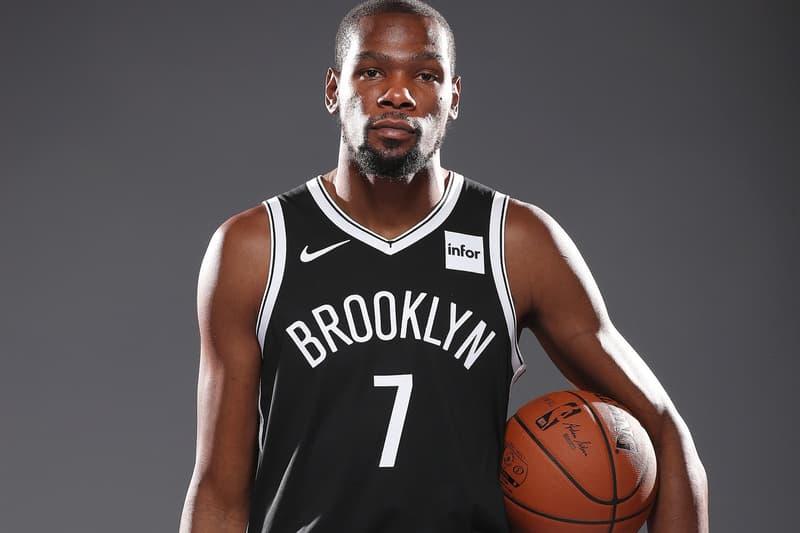 消息稱 Kevin Durant 與三位 Brooklyn Nets 隊友皆正式確診