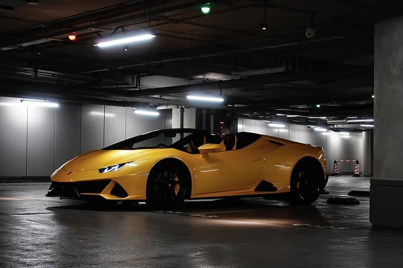 無上樂趣-HYPEBEAST 實測體驗 Lamborghini Huracán EVO Spyder 開篷超跑
