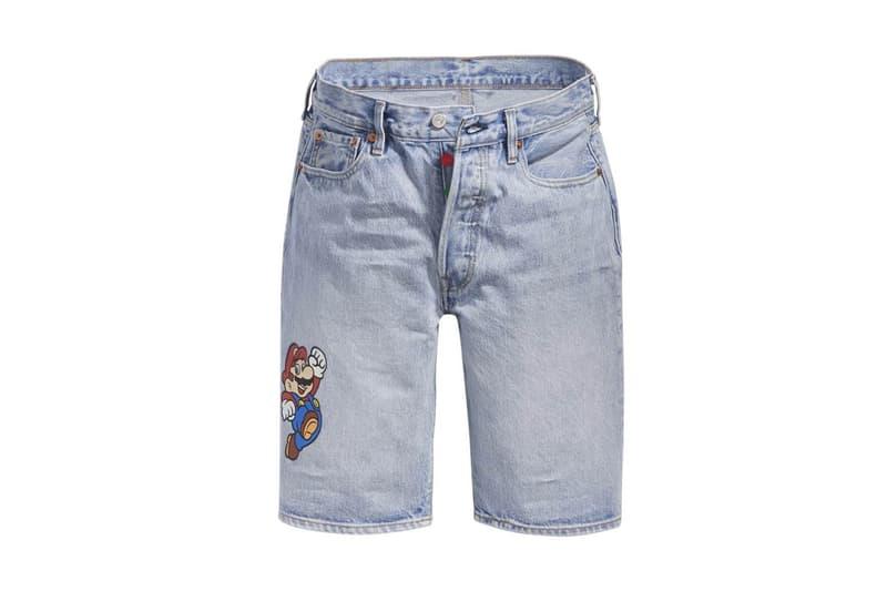 Levi's x Nintendo 攜手推出別注「Super Mario」聯乘系列服飾