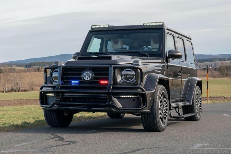 Mansory 打造 Mercedes-AMG G63 全力動力升級「防彈」改裝車型