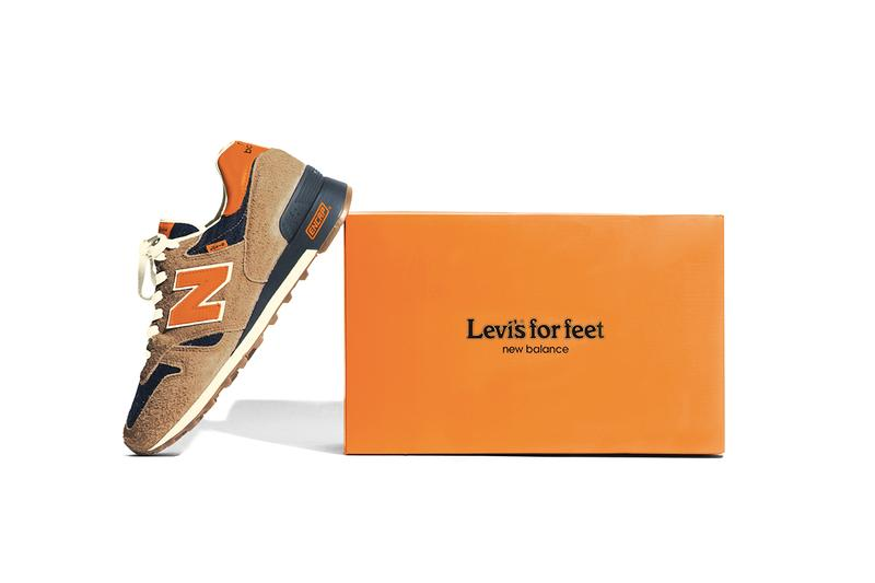 New Balance x Levi's 推出別注丹寧版本 1300 鞋王