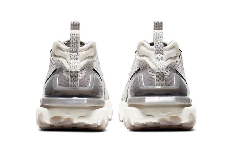 Nike React Vision 最新配色「Vast Grey」發佈