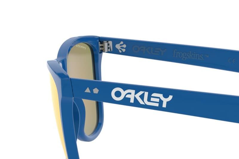 元祖細節重現!Oakley 推出 Frogskins 35 周年別注版本