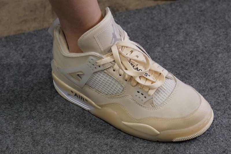 近賞 Off-White™ x Air Jordan 4 聯乘配色最新清晰圖輯