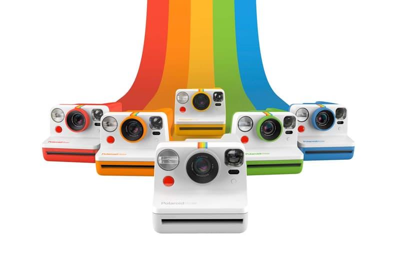 經典升級 - Polaroid 推出全新「Now」I-Type 即影即有相機