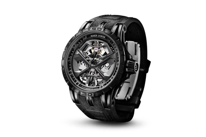Roger Dubuis 全新 Excalibur Huracán 自動上鍊腕錶發佈
