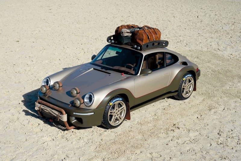 RUF Automobile 打造西部越野風格 Porsche 911 改裝車型