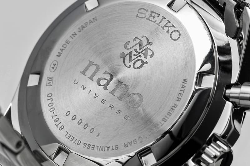 「平民版 Paul Newman」SEIKO x nano・universe 推出熊貓計時手錶