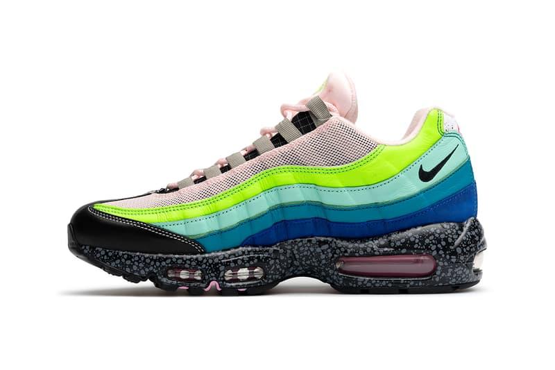 size? x Nike Air Max 95「20 for 20」鞋款官方圖輯及發售日期釋出