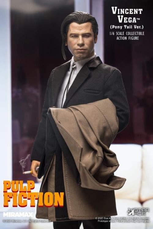 Star Ace 推出經典電影《Pulp Fiction》主角 Vincent Vega 1:6 比例可動人偶