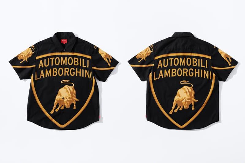 猛如狂牛-Supreme x Lamborghini 2020 春夏聯乘系列正式發佈