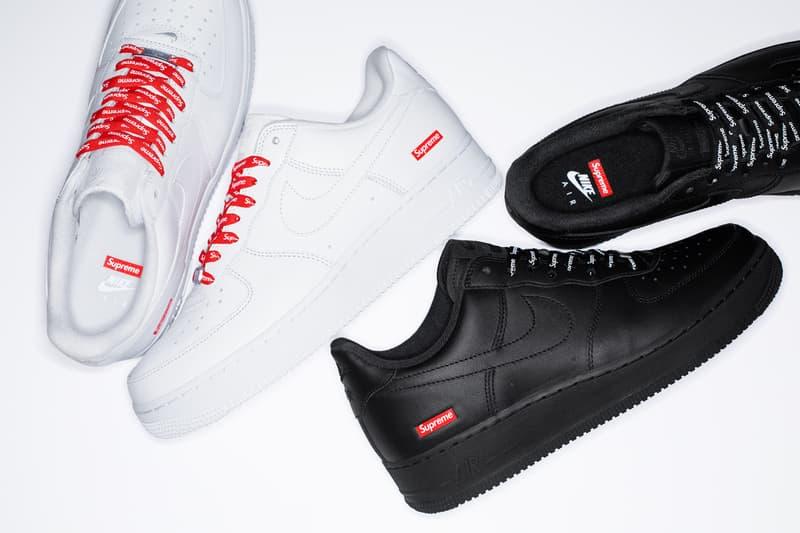 一矢中的!Supreme x Nike Air Force 1 Low 正式登場