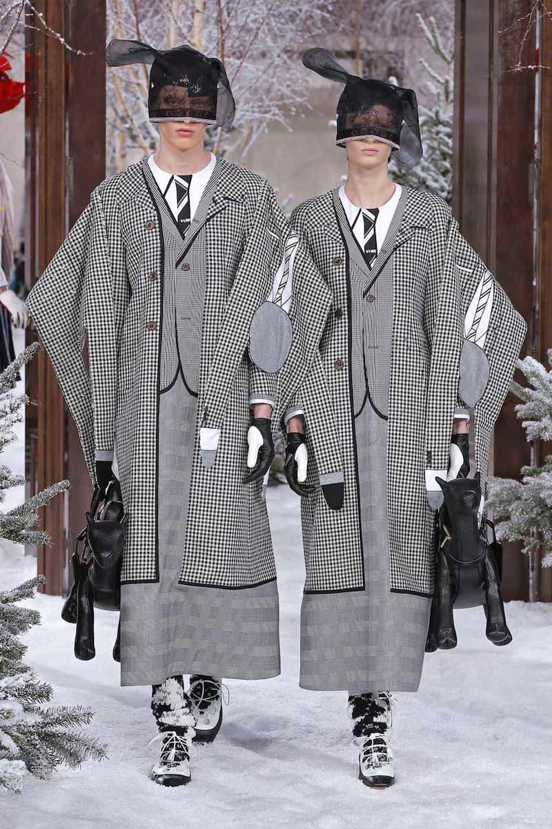 巴黎時裝周 -Thom Browne 2020 秋冬系列時裝大秀