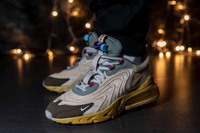 Travis Scott x Nike Air Max 270 React 全新聯乘鞋款或將推遲發售