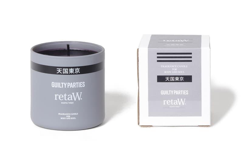 家居香調品牌 retaW 攜手 WACKO MARIA 打造全新香氛系列