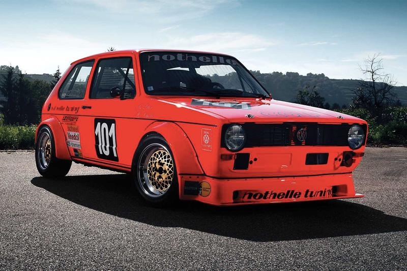 Hockenheimring 大獎賽冠軍車款 Volkswagen Golf Mk1 即將展開拍賣