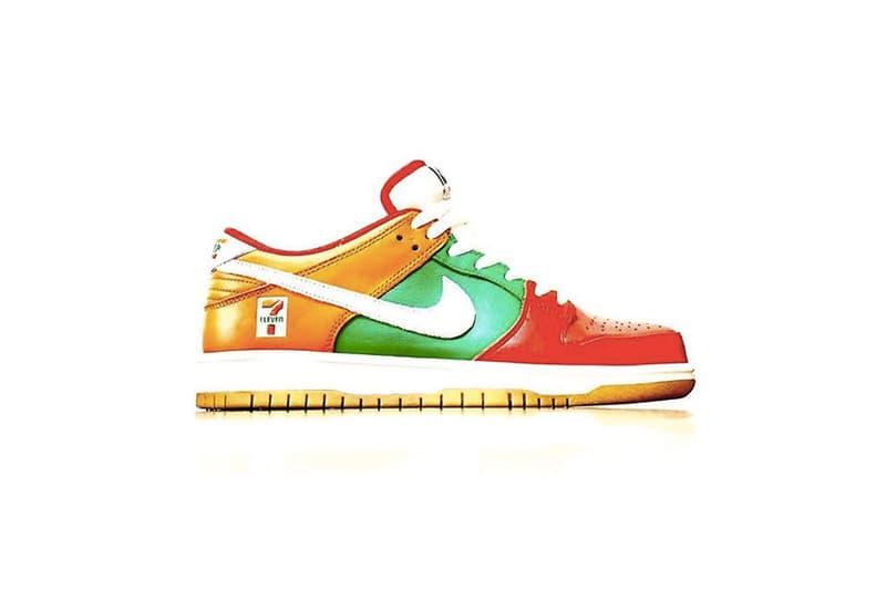 率先預覽 7-ELEVEN x Nike SB Dunk Low 最新聯名鞋款