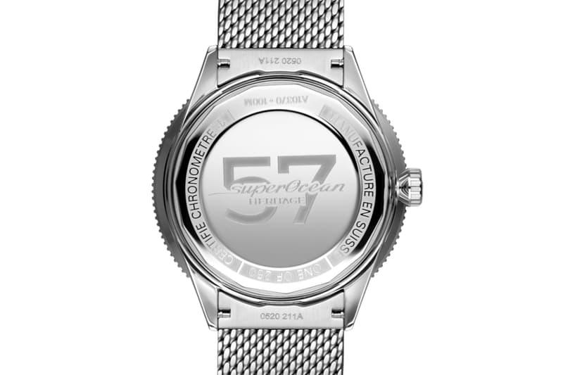 Breitling 全新 Superocean Heritage 57 錶款重現復古滑浪風格
