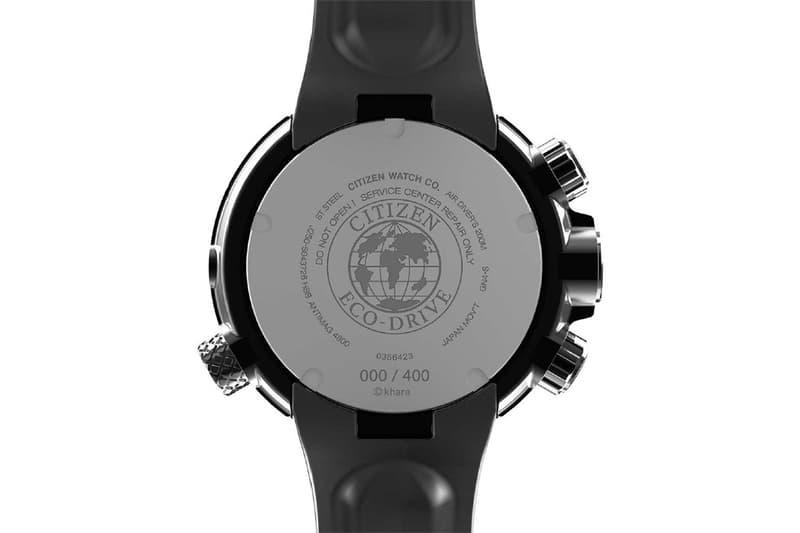 EVA x CITIZEN 攜手推出初號機別注 PROMASTER 錶款