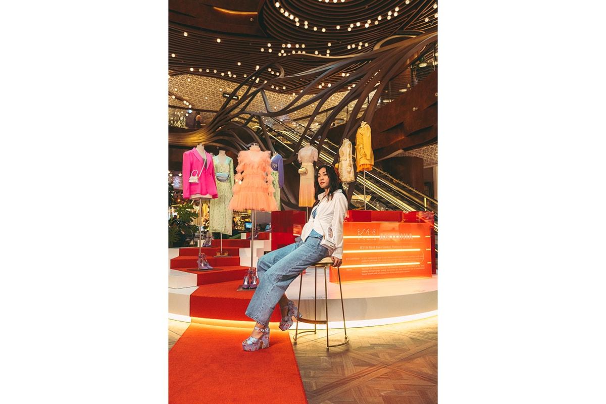 楊文蔚 Cecilia Yeung 率先走進 K11 | ANTONIA 香港首間時尚旗艦