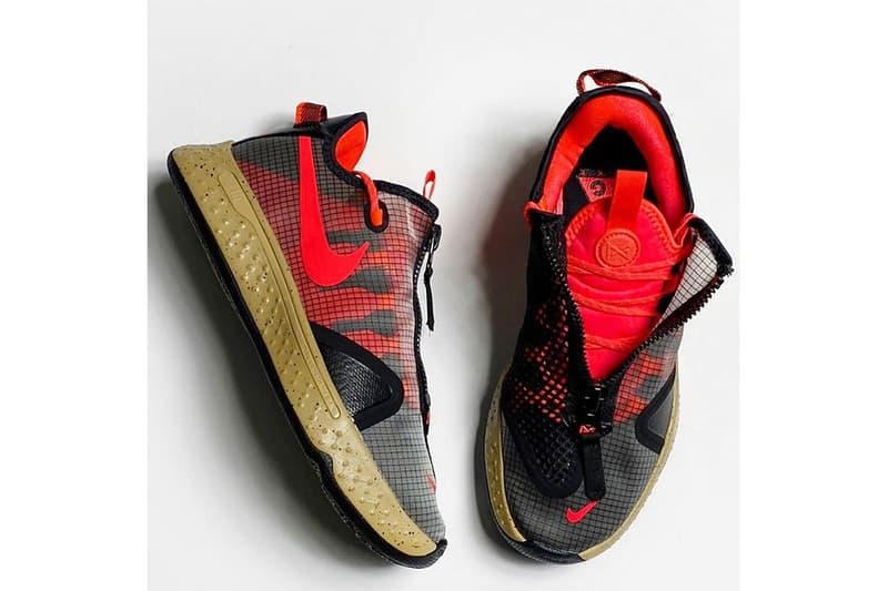 ACG 戶外變奏 − Nike PG4 別注配色「PCG」率先曝光