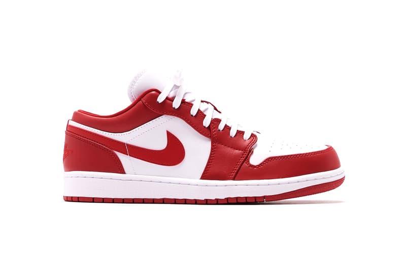 Air Jordan 1 Low「Gym Red」配色鞋款正式上架