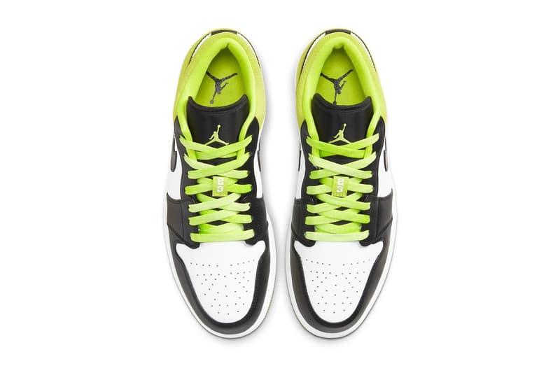 Air Jordan 1 Low SE 最新配色「Suede Green」發佈
