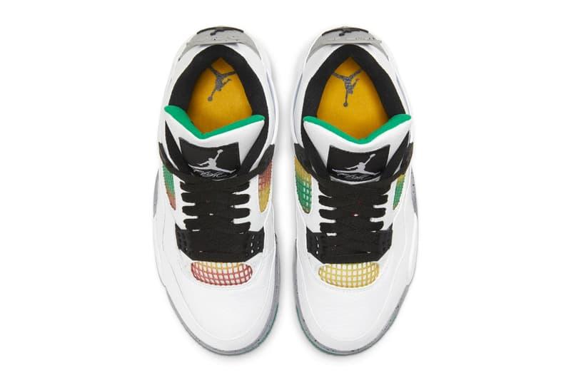 Air Jordan 4 最新配色「Lucid Green」官方圖輯正式登場