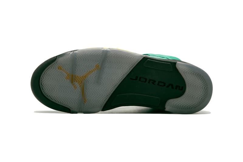消息稱 Air Jordan 5 SE 特別配色「Oregon」或將於今年正式發售