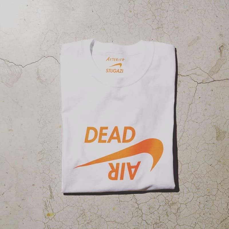 Asterisk 攜手 STUGAZI 推出別注「DEAD AIR」T-Shirt 上衣