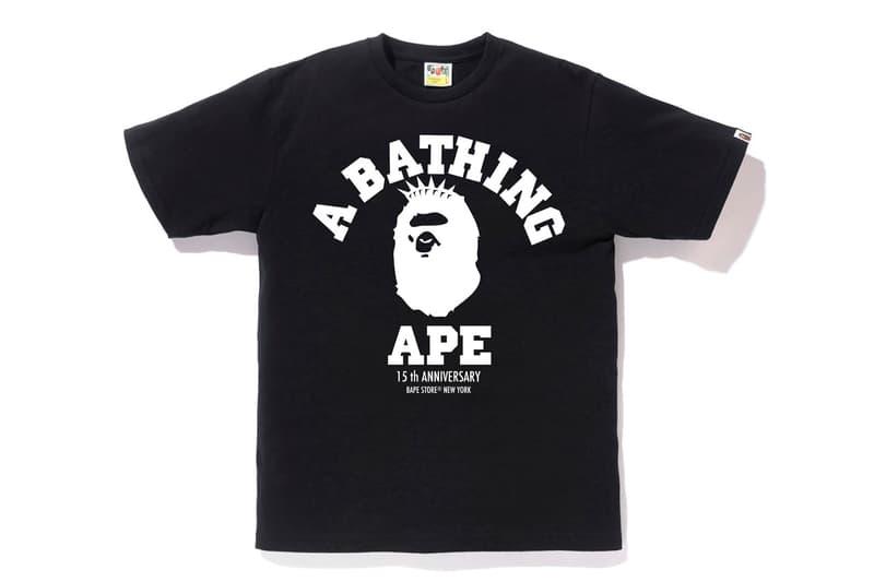 A BATHING APE® 紐約門店 15 週年別注限定系列發佈